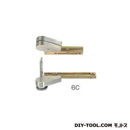 ピポットヒンジ堅枠取付型持出吊り左勝手木製枠・木製ドア用   6C 左