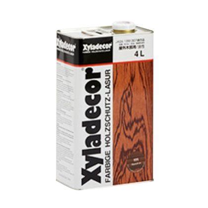 【送料無料】大阪ガスケミカル キシラデコール/高性能木材保護着色塗料 ジェットブラック 4L #112 0
