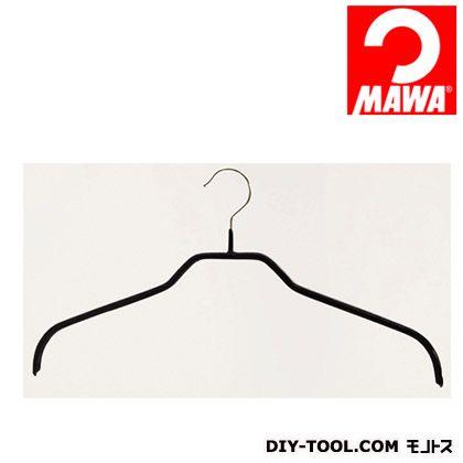 MAWA社 10本セットマワハンガー滑らないハンガーレディースハンガー ブラック 210918