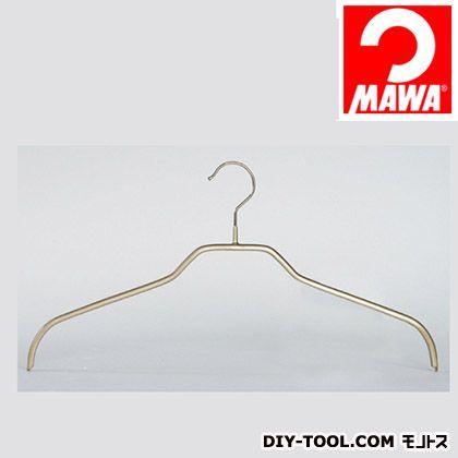 MAWA社 3本セットマワハンガー滑らないハンガーレディースハンガー ゴールド 210916