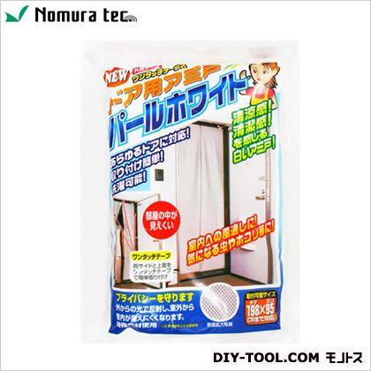 ワンタッチテープ式ドア用網戸 ホワイト 500mmX2020mmX50mm N-1218