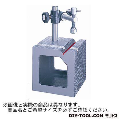 【送料無料】新潟理研測範 V溝付桝形ブロックA級 100 49-1-100