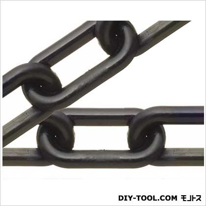 ニッサチェイン/NISSA プラスチックリンクリール巻チェイン 黒 30m R-PW60
