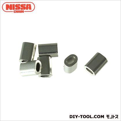 ニッサチェイン/NISSA ワイヤーロープ専用オーバルスリーブ SY8用 P-985