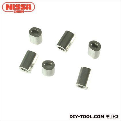 ニッサチェイン/NISSA ワイヤーロープ専用オーバルスリーブ SY4用 P-986