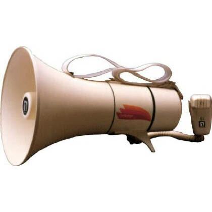 【送料無料】ノボル ショルダータイプメガホン13Wホイッスル音付き(電池別売) 372 x 253 x 232 mm TM-208