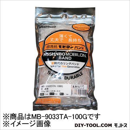 モビロンバンド90X3X0.3透明/洗浄タイプ100G   MB-9033TA-100G 460 本