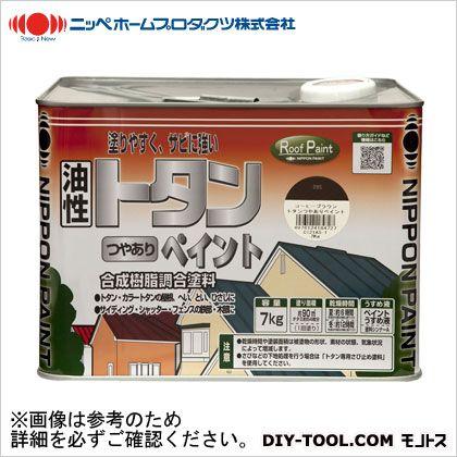 【送料無料】ニッペホーム トタンつやありペイント シルバー 7kg