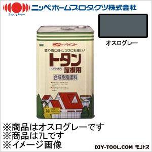 【送料無料】ニッペホーム トタン屋根用 オスログレー 7L 0