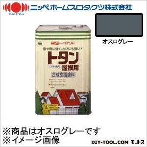 【送料無料】ニッペホーム トタン屋根用 オスログレー 14L 0