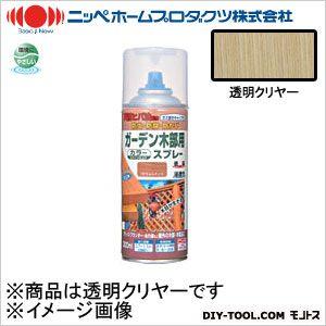 ガーデン木部用スプレー 透明クリヤー 300ml 09