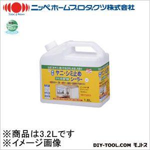 水性ヤニ・シミ止めシーラー 白色 3.2L