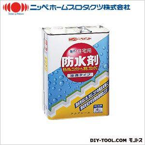 住宅用防水剤 透明 4L