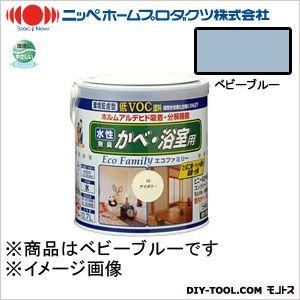 ニッペホーム 水性エコファミリー ベビーブルー 0.7L 10