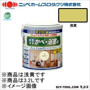 【送料無料】ニッペホーム 水性エコファミリー 浅黄 3.2L 15 0