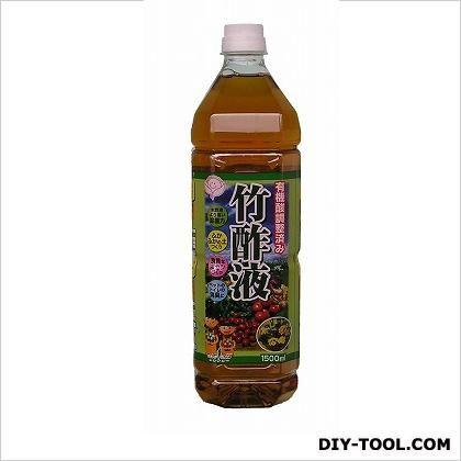 有機酸調整済み竹酢液  1.5L
