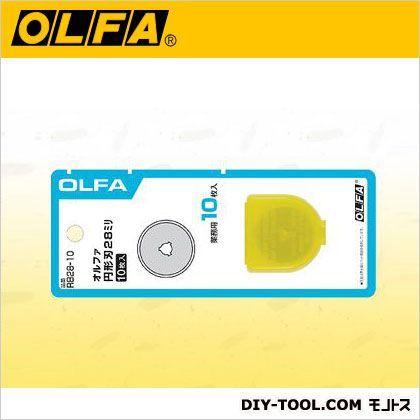 OLFA円形刃28ミリ替刃10枚入ブリスター   RB28-10 10 枚入