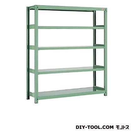 中量棚 グラスグリーン 幅×奥行×高さ:1855×630×1200mm B3-4634