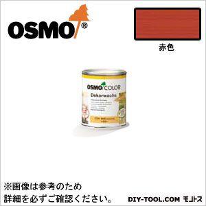 オスモカラーウッドワックスオパーク日本の色3分艶あり 赤色 0.75L 3133