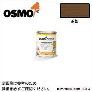 オスモカラーウッドワックスオパーク日本の色3分艶あり 茶色 0.75L 3165