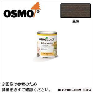 オスモカラーウッドワックスオパーク日本の色3分艶あり 黒色 0.75L 3169
