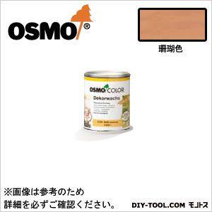 オスモカラーウッドワックスオパーク日本の色3分艶あり 珊瑚色 0.75L 3183