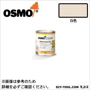 オスモカラーウッドワックスオパーク日本の色3分艶あり 白色 0.75L 3188