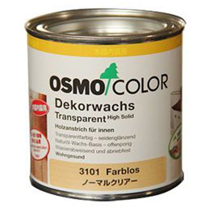 オスモカラーウッドワックス チーク 0.375L 3166