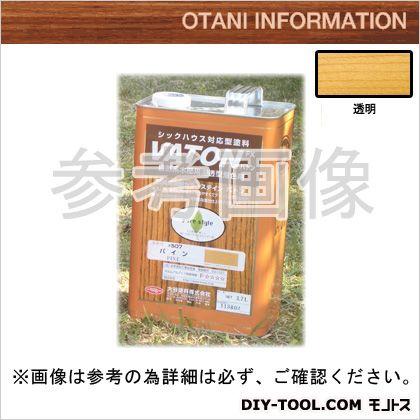 大谷塗料 VATONFX/自然系木部用浸透型着色剤 透明 3.7L #501