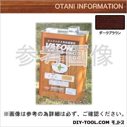 大谷塗料 VATONFX/自然系木部用浸透型着色剤 ダークブラウン 3.7L #509