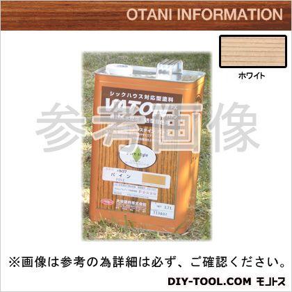 大谷塗料 VATONFX/自然系木部用浸透型着色剤 ホワイト 3.7L #523