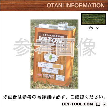 大谷塗料 VATONFX/自然系木部用浸透型着色剤 グリーン 3.7L #527