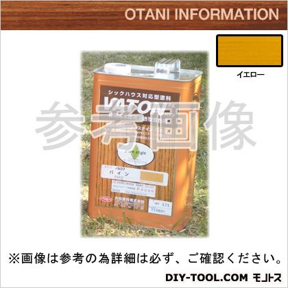 大谷塗料 VATONFX/自然系木部用浸透型着色剤 イエロー 3.7L #531