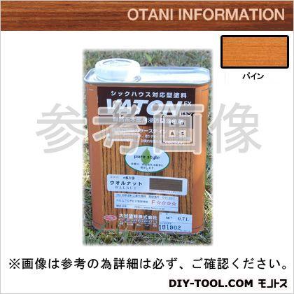 大谷塗料 VATONFX/自然系木部用浸透型着色剤 パイン 0.7L #507