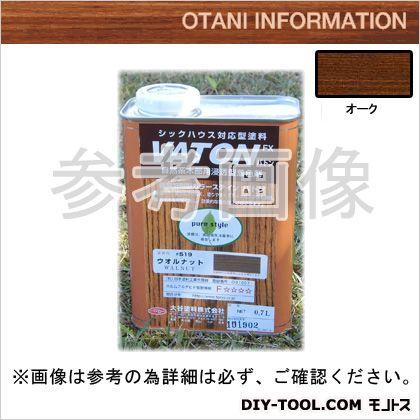大谷塗料 VATONFX/自然系木部用浸透型着色剤 オーク 0.7L #517