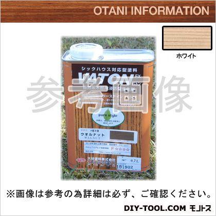 大谷塗料 VATONFX/自然系木部用浸透型着色剤 ホワイト 0.7L #523