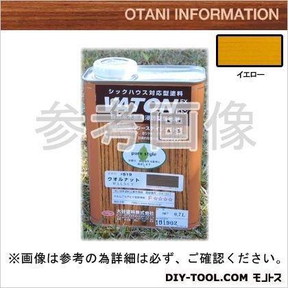 大谷塗料 VATONFX/自然系木部用浸透型着色剤 イエロー 0.7L #531