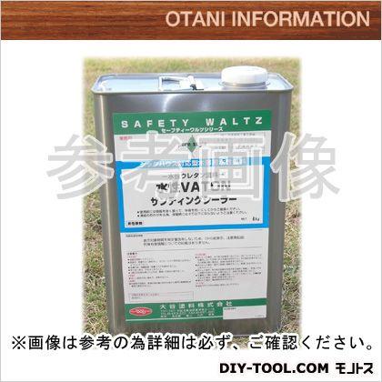 【送料無料】大谷塗料 水性VATON-FXサンディングシーラー/自然系水性木部用浸透型着色剤 4kg 0