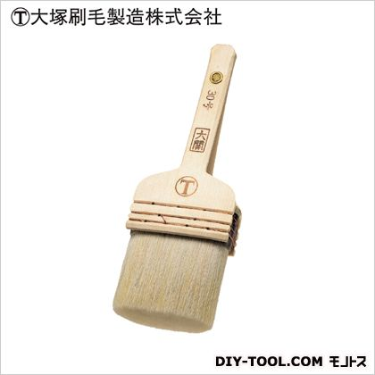 【送料無料】マルテー 大関水性 肩丸 平 白 30号 D38×W84×H244(mm)