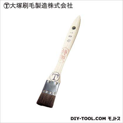 マルテー シマ毛金巻 特製 平 茶 10号 D6×W34×H183(mm)