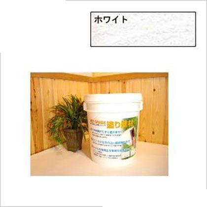 漆喰珪藻土ケイソウくんMIXグレード練り置きタイプ ホワイト 18kg