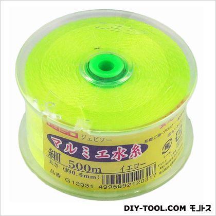 JBSO マルミエ水糸 イエロー 細 500m G12031