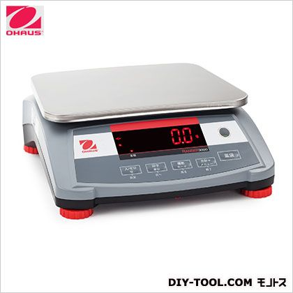 【送料無料】オーハウス レンジャー3000シリーズ ひょう量:30kg/最小表示:1g R31PE30