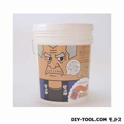 ひとりで塗れるもん(室内用塗り壁材)壁次郎 頑固ブラウン 22kg 900-022007-GB