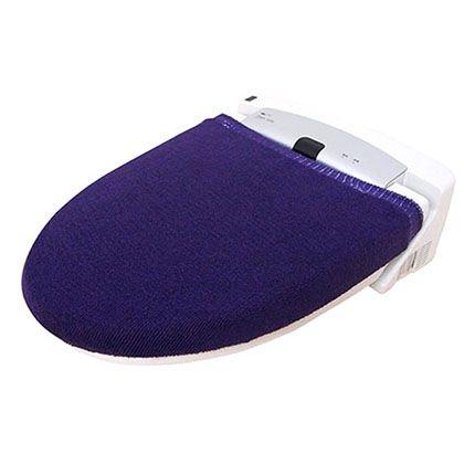 オカトー カラーモードプレミアム兼用フタカバー パープル U型・O型、洗浄暖房用兼用 247977