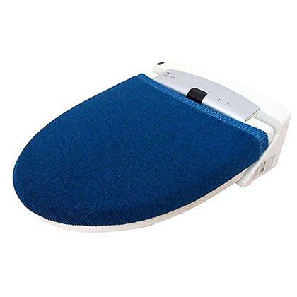 オカトー カラーモードプレミアム兼用フタカバー ターコイズブルー U型・O型、洗浄暖房用兼用 247978
