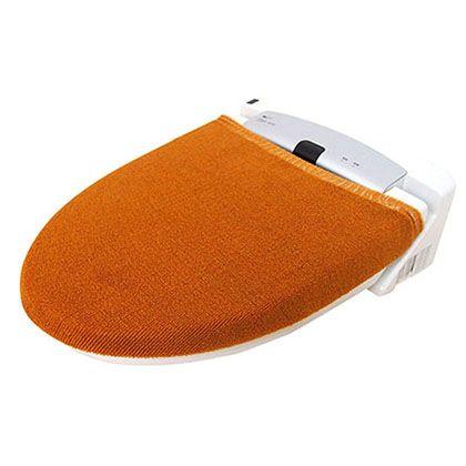 オカトー カラーモードプレミアム兼用フタカバー マスタード U型・O型、洗浄暖房用兼用 247981