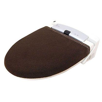 オカトー カラーモードプレミアム兼用フタカバー ブラウン U型・O型、洗浄暖房用兼用 247982