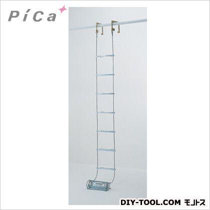 【送料無料】ピカ 避難用ワイヤーロープはしごER型8.1m ER-82 1