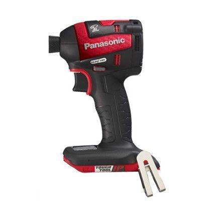 Panasonic充電インパクトドライバ本体のみ レッド  EZ75A7X-R